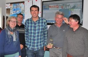 Jean Luc Bordier et l'equip de NAVENTURE _ 1er Cham Automne_2015
