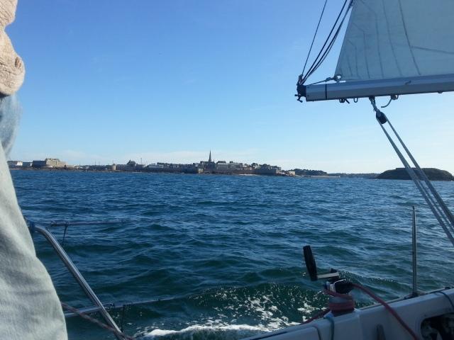 retour sur Saint Malo